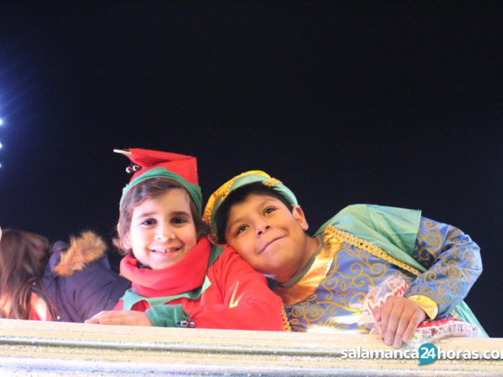 Cabalgata sin ruido para los niños con autismo en Salamanca