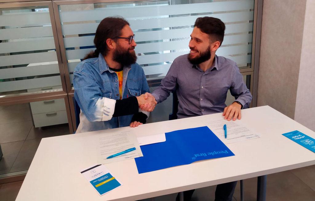 Fundación Eurofirms y Fundación Cepaim, por la inserción laboral de personas con discapacidad #IncorporalaCaixa