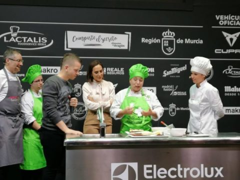 David Muñoz y Tamara Falcó apoyan la cocina inclusiva en Madrid Fusión