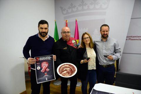 Encuentro solidario de cortadores de jamón de Plasencia a favor de Aunex