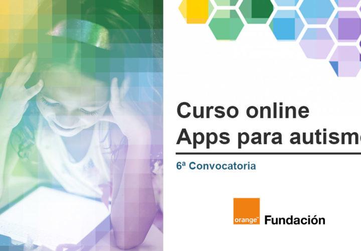 Nueva convocatoria del curso online de Apps para autismo de Fundación Orange