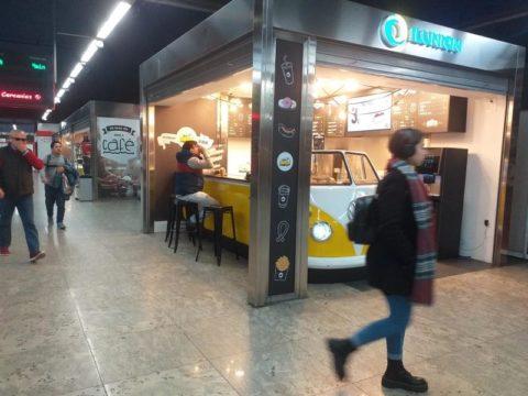 ILUNION lleva al intercambiador de Nuevos Ministerios un punto de venta food truck