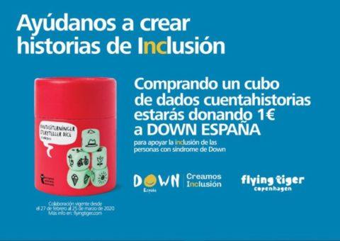 Flying Tiger se une a DOWN ESPAÑA para crear historias de inclusión