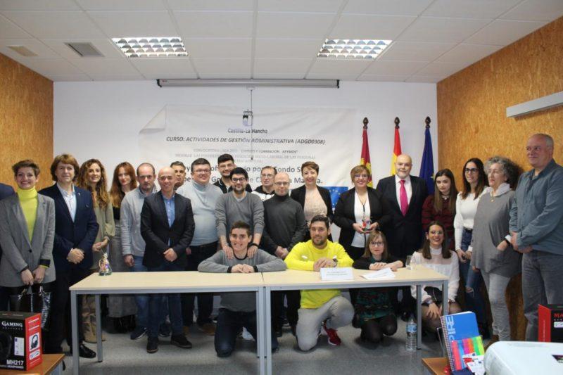 El Gobierno de Castilla-La Mancha facilita la integración laboral de 9 personas con discapacidad en Socuellamos