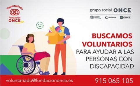 voluntariado de Fundación ONCE por el Coronavirus