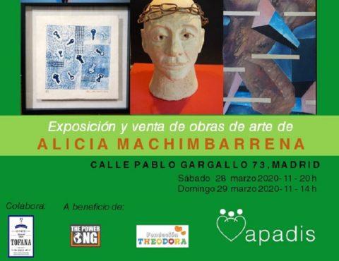#ARTECOMPARTE Apoyará a Apadis con la venta de obras de arte