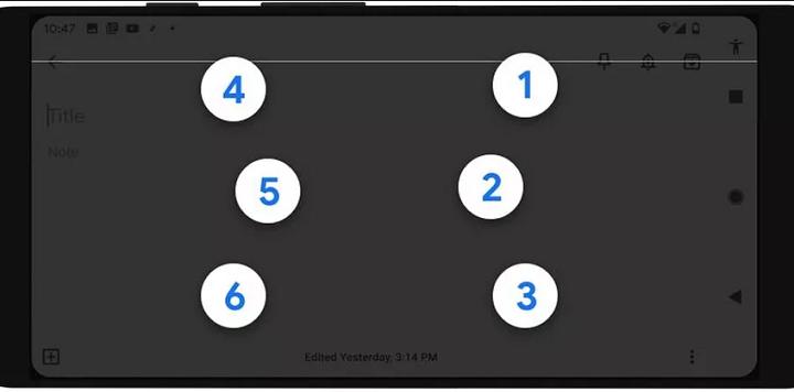 Google estrena TalkBack, el teclado braille para usuarios Android