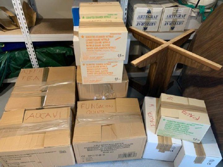 Fundación ONCE y Fundación Solidaridad Carrefour se vuelcan en la donación de material para frenar el COVID-19 en centros de personas con autismo