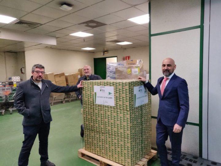 El Corte Inglés de León dona cien juegos de sábanas para la residencia de Asprona en Quintana de Raneros