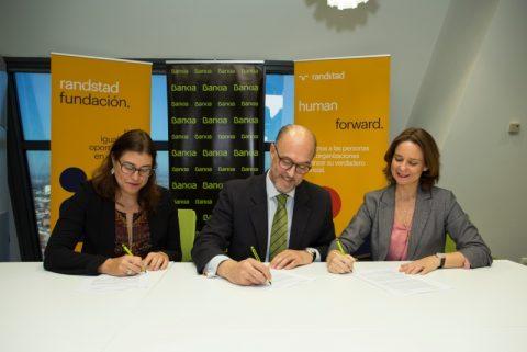 Bankia y Randstad renuevan su programa Empleo en Red