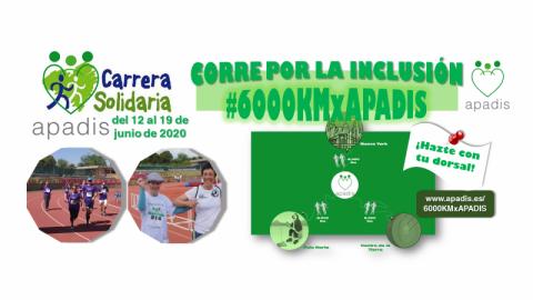 "Carrera Solidaria ""6.000 Km por APADIS"""