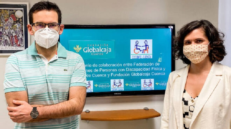 La Fundación Globalcaja y Cocemfe Cuenca estrechan lazos