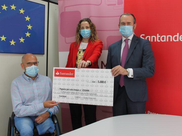 COGAMI recibe el apoyo de la Fundación Banco Santander
