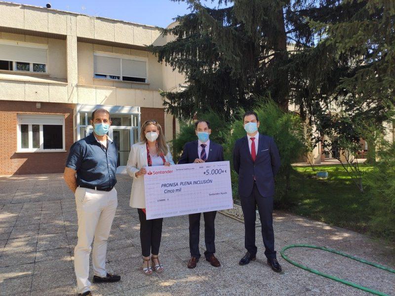 Fundación Banco Santander apoya con 5.000 euros a Pronisa