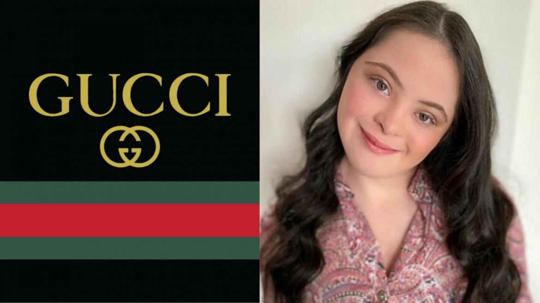 Ellie Goldstein, tiene síndrome de Down y es la imagen de Gucci