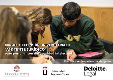 Esfera y URJC promueven el primer título universitario para personas con discapacidad intelectual