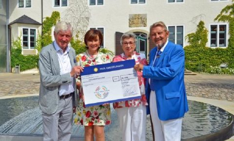 Paul Gauselmann dona 86.000 euros a la Fundación Andreas Gärtner