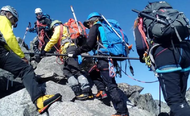 Tres montañeros ciegos formarán parte de la III Expedición inclusiva mundial a los Alpes franceses
