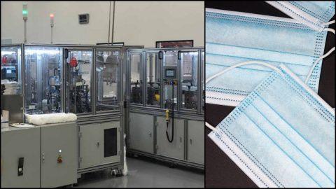Inditex dona la maquinaria para fabricar mascarillas en un centro de empleo de personas con discapacidad