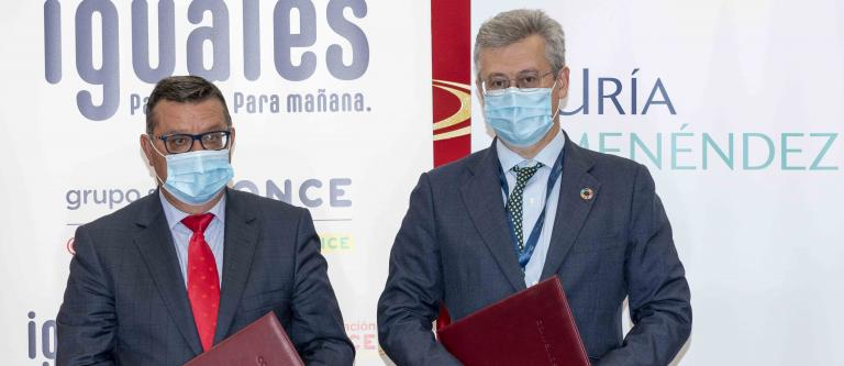 Uría Menéndez y Fundación ONCE formarán a personas con discapacidad
