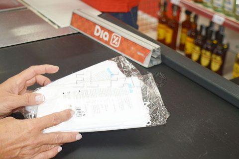 Grupo Dia pone a la venta mascarillas quirúrgicas fabricadas por personas con discapacidad