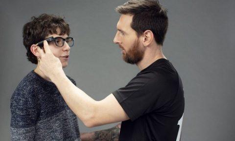 Messi se une a Orcam para proporcionar a los ciegos un dispositivo visual impulsado por IA