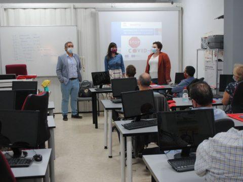 15 personas con discapacidad se forman en Valdepeñas para su inclusión laboral