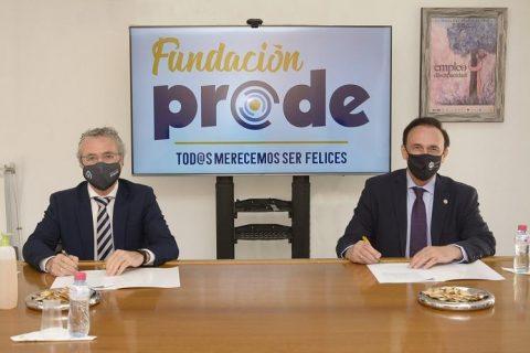 Firma de convenios entre la UCO y la Fundación Prode para potenciar la inserción laboral