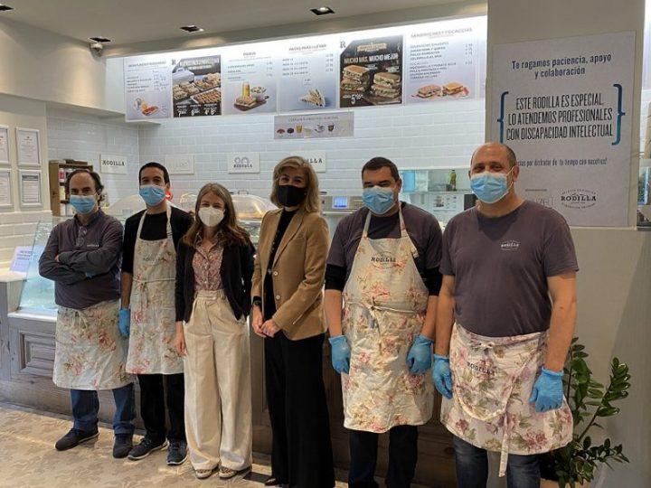 Rodilla continúa apostando por la integración laboral junto con la Fundación A LA PAR