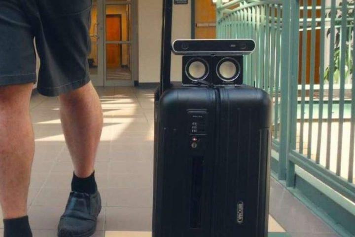 Una maleta robot podría reemplazar los bastones y perros guías para las personas ciegas