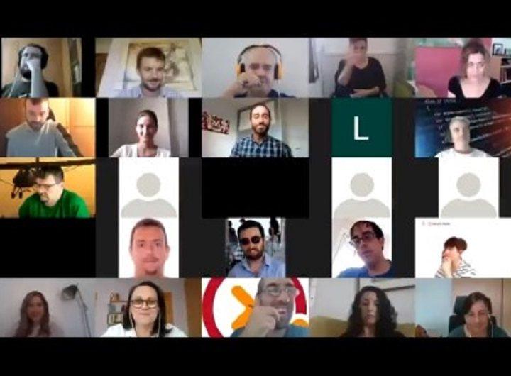 Veintiséis personas con discapacidad se reconvierten en programadores de la mano de Fundación ONCE