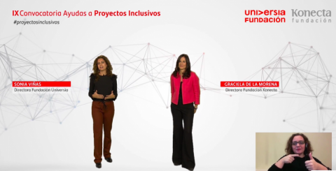 Fundación Universia y Fundación Konecta entregan 50.000 euros a proyectos inclusivos