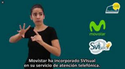 Movistar incorpora la lengua de signos a su servicio de atención al cliente