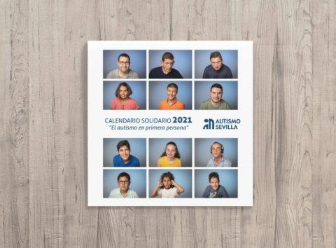Un calendario solidario con total protagonismo de las personas con autismo