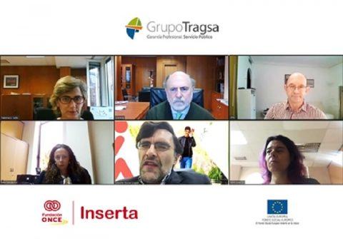 Grupo Tragsa renueva el compromiso con Fundación ONCE para fomentar el empleo de las personas con discapacidad