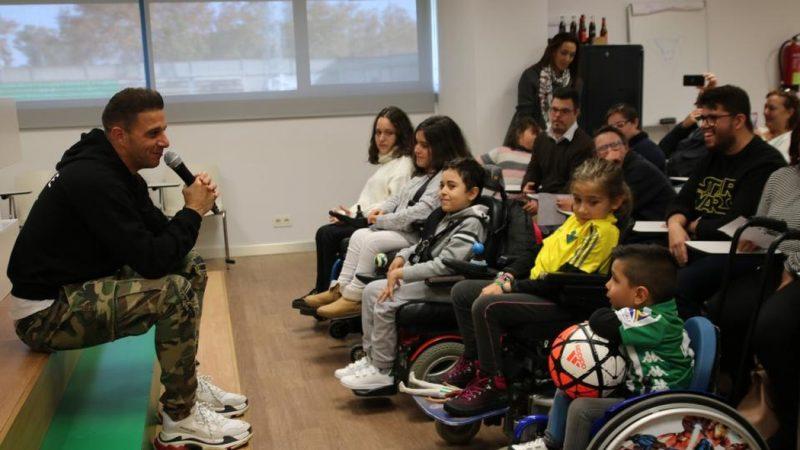 El Real Betis y su Fundación ponen en marcha la Semana de la Discapacidad
