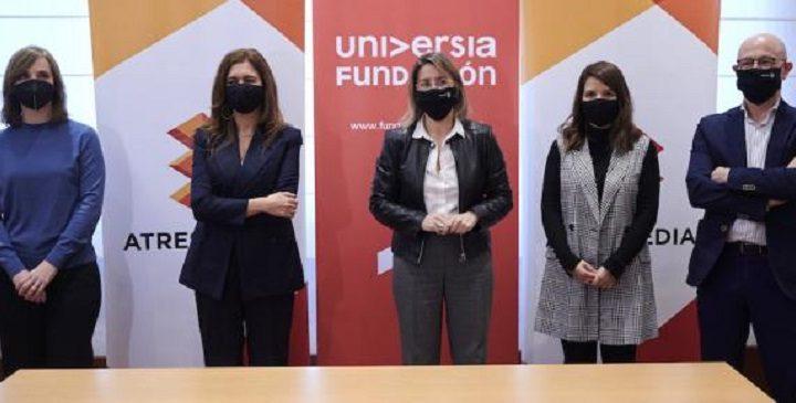 Atresmedia y Fundación Universia se unen para impulsar el empleo de personas con discapacidad
