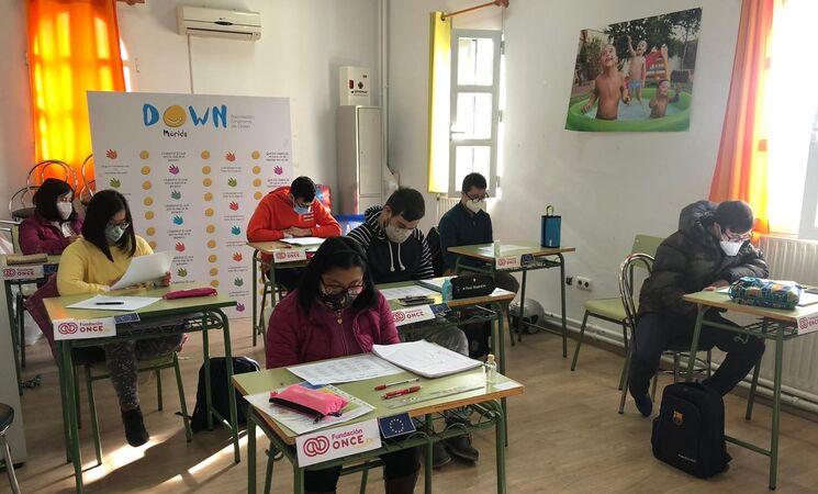 Arranca en Down Mérida el proyecto 'Uno a uno' de Fundación ONCE sobre inserción laboral