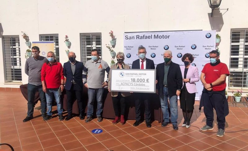 BMW San Rafael Motor dona 18.000 euros a Acpacys
