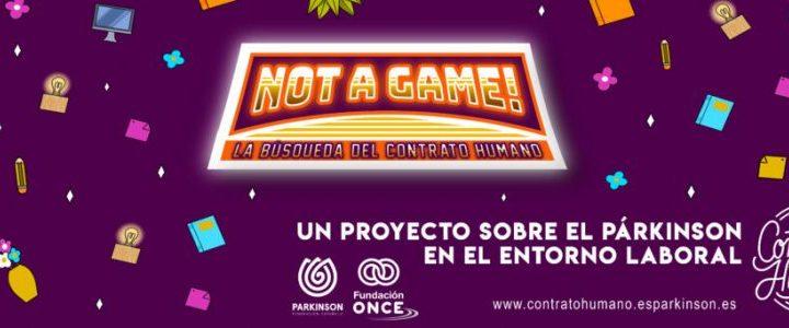 La Federación Española de Parkinson lanza el videojuego 'Not a game!' para visibilizar la enfermedad en el trabajo