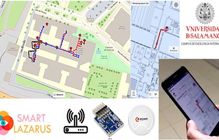 Indra, Fundación Universia y la Usal impulsan SmartLazarus una app capaz de guiar a personas con discapacidad visual