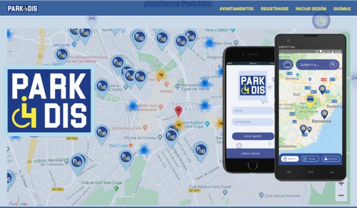 Park4dis, una app para encontrar aparcamientos para personas con discapacidad