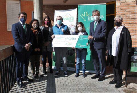 Fundación Eurocaja Rural participa en el programa de inclusión laboral de AFANNES Toledo